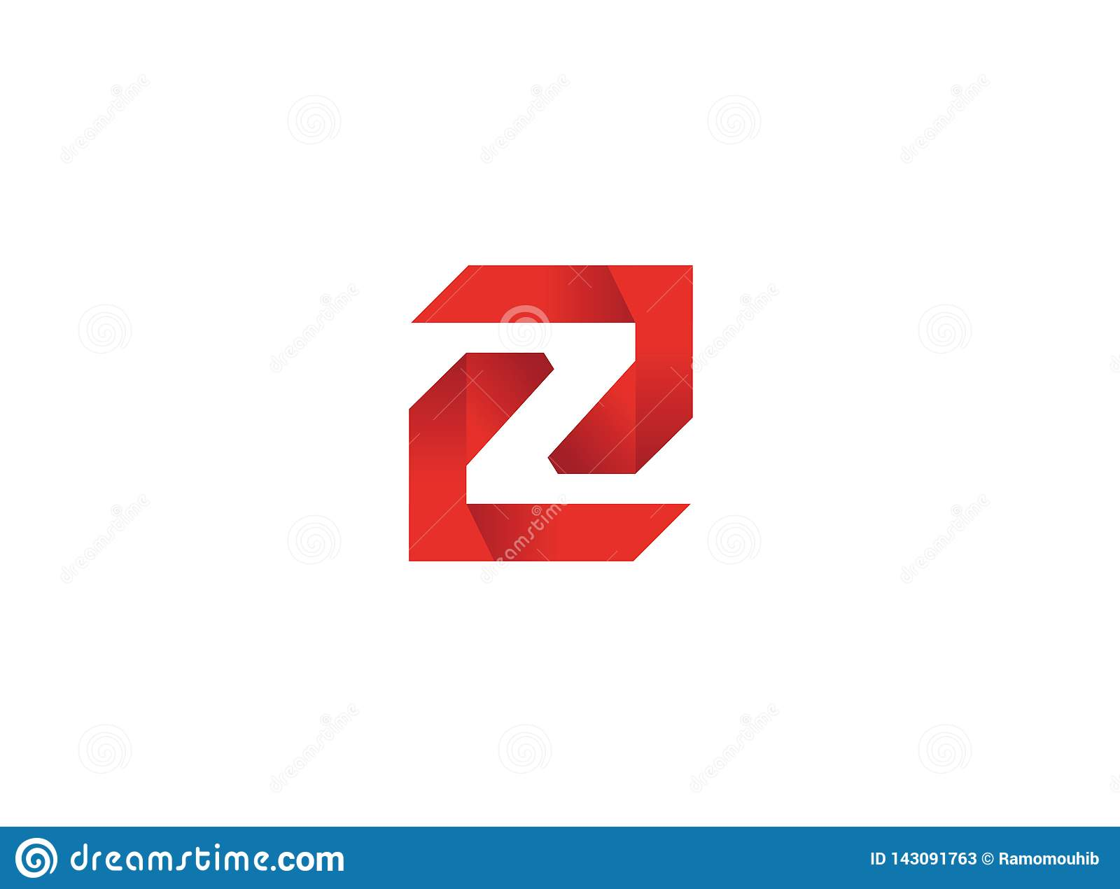 Labyrinth technology symbol alphabet Z for logo design
