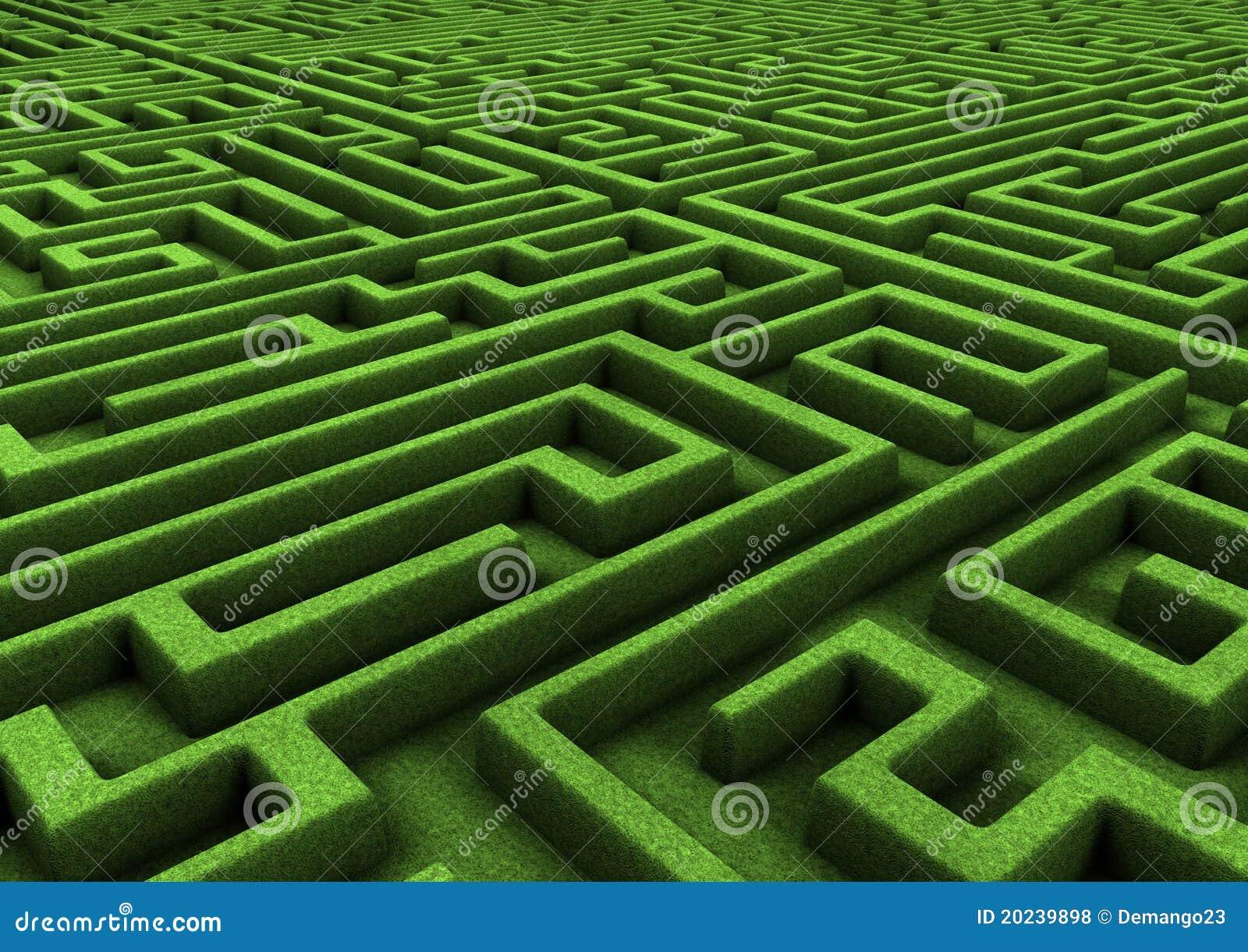 Labyrinthe énorme