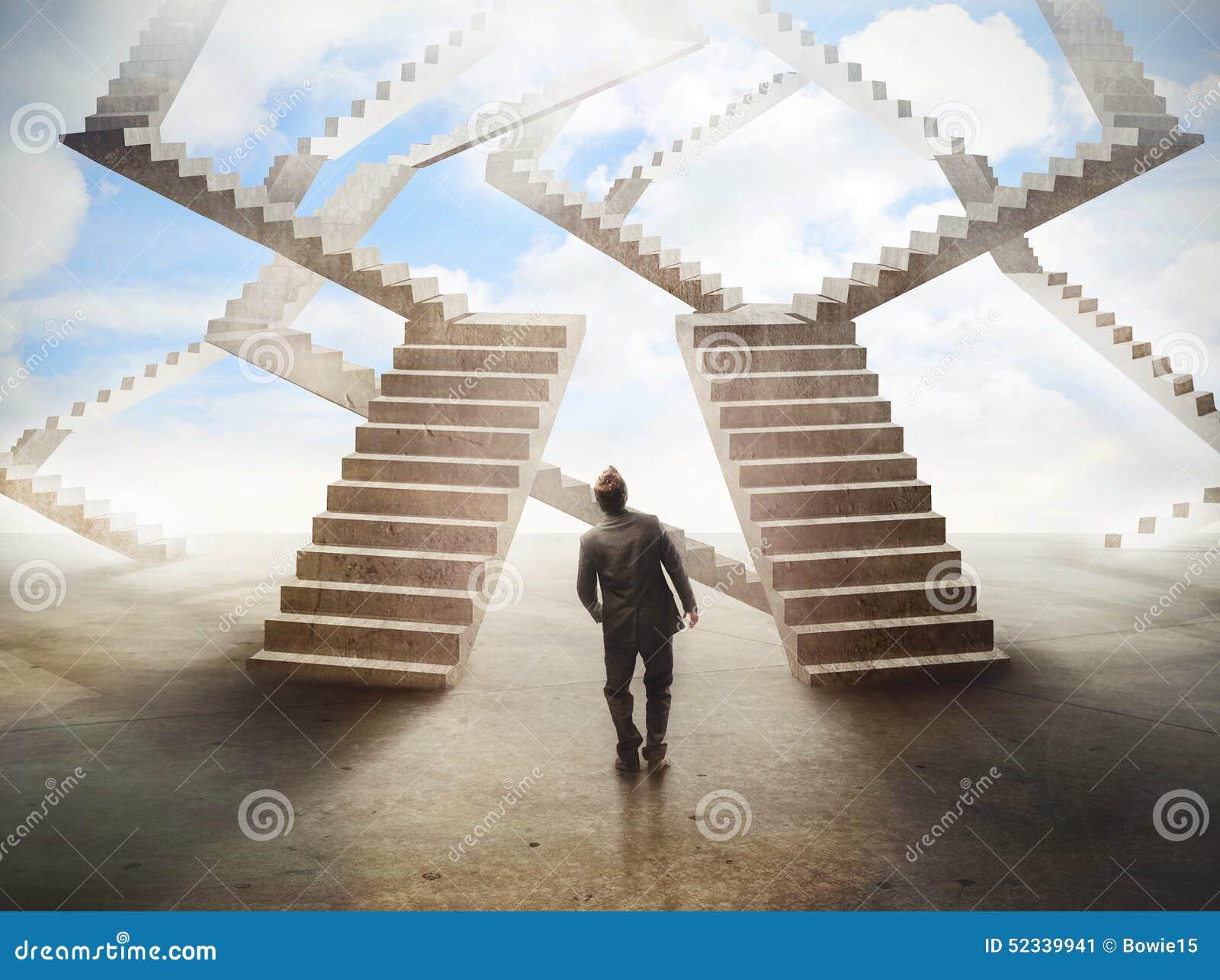 Labyrinthe d escaliers