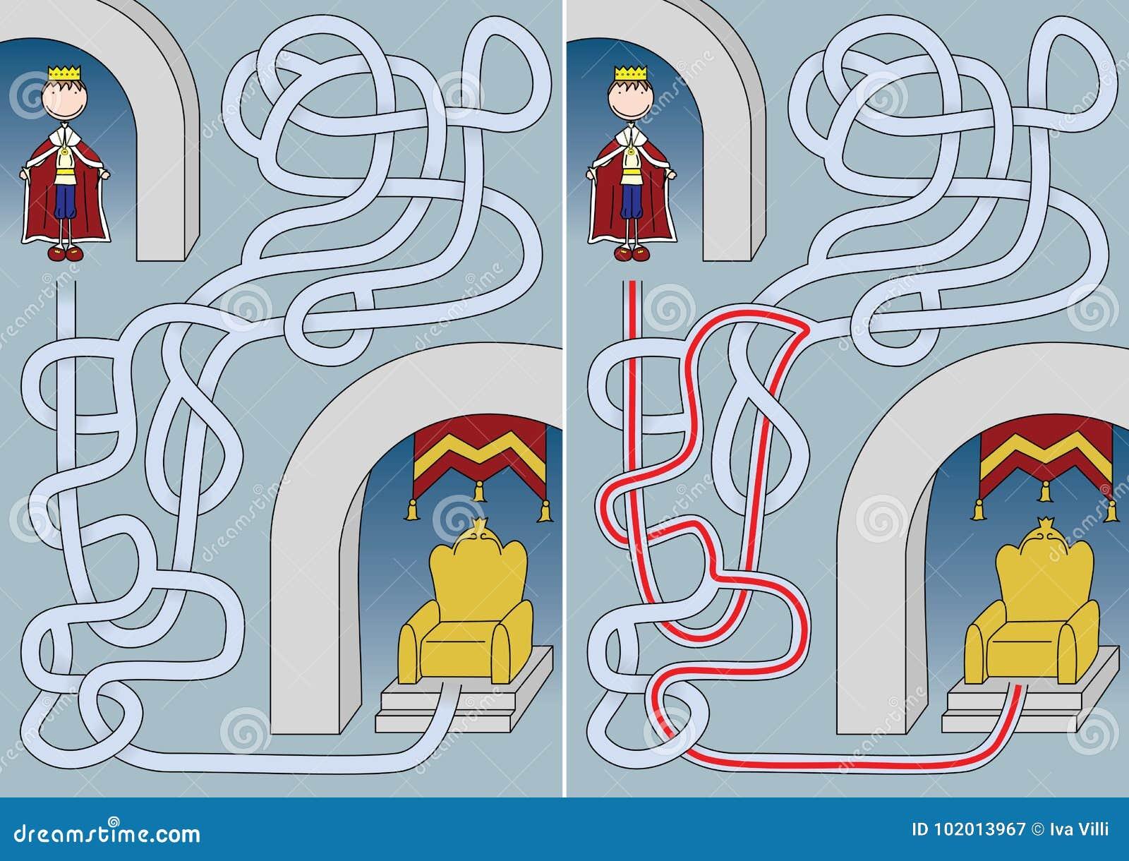 Labyrinthe de roi