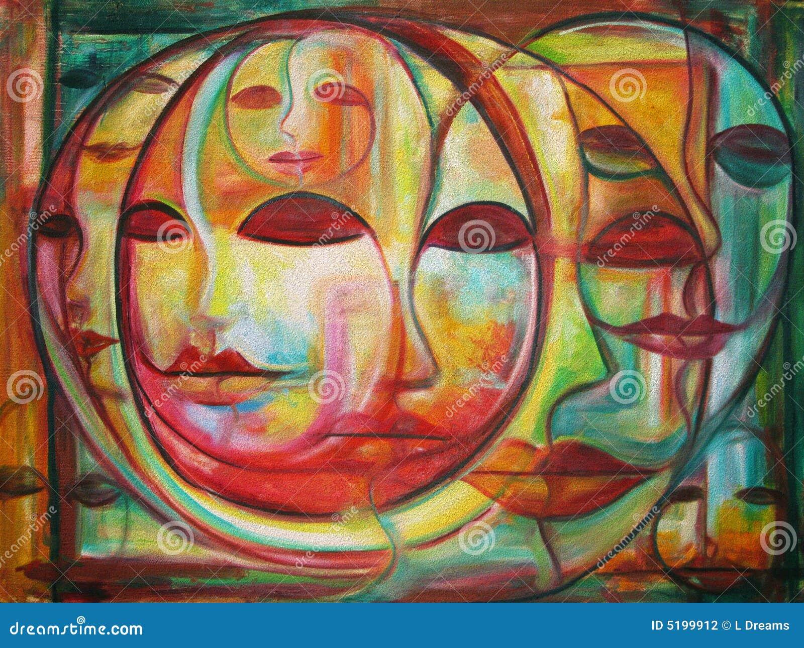 Labyrinthe des visages