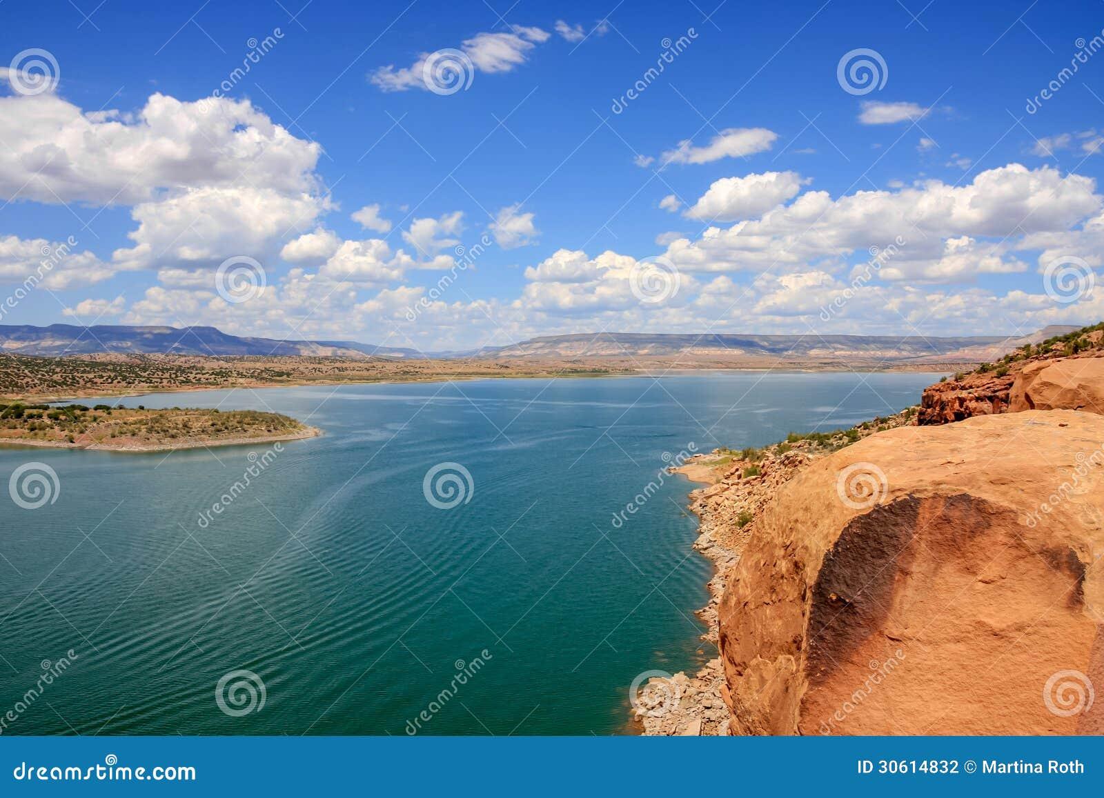 Lac Abiquiu au Nouveau Mexique