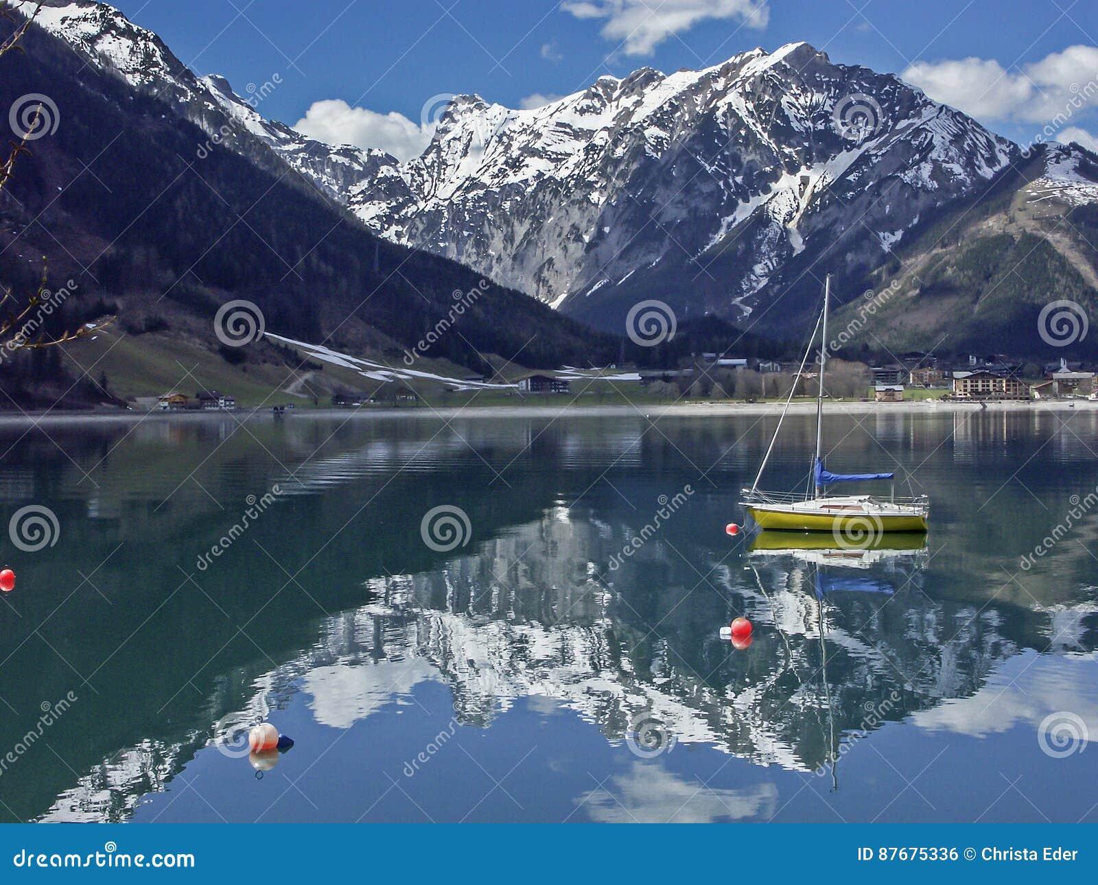 vacances au tyrol Achensee - une destination populaire et beaucoup-visitée de vacances au  Tyrol