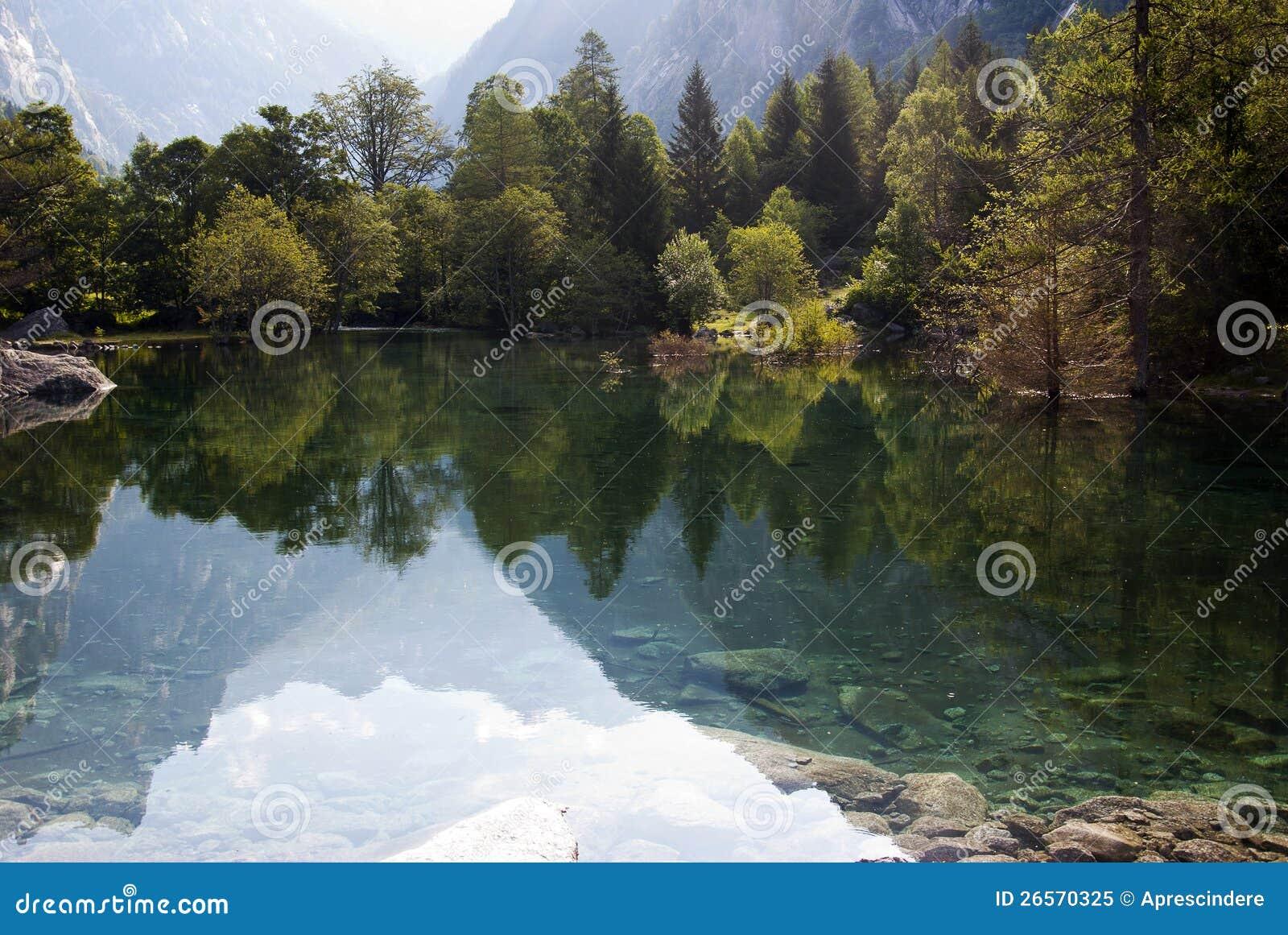 Lac alpestre