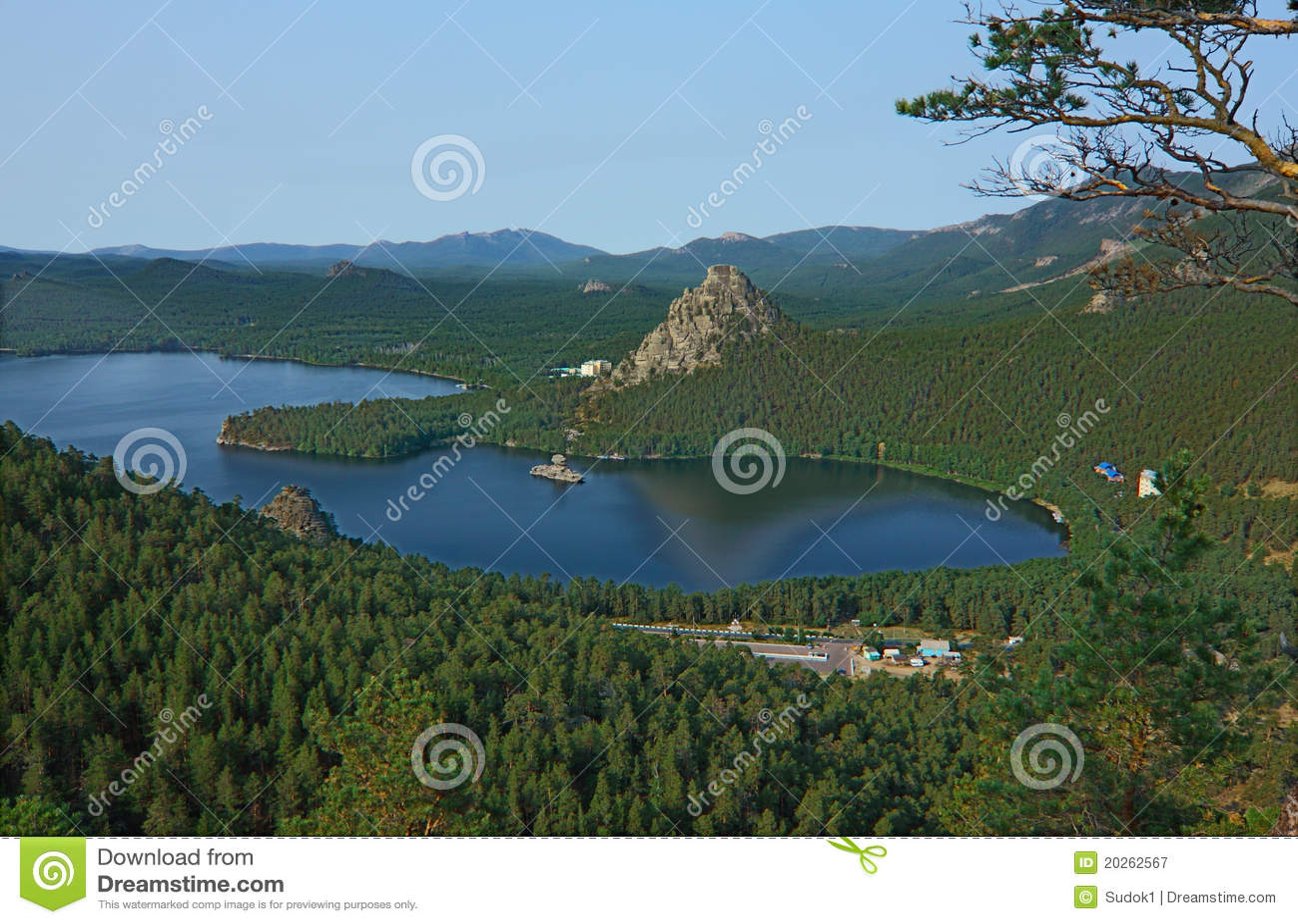 Borovoe Kazakhstan  city photos : Lac Borovoe. Kazakhstan Photographie stock libre de droits Image ...