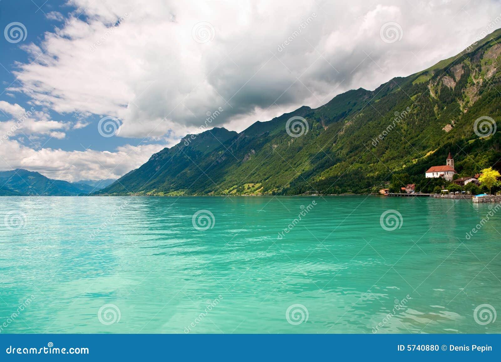 Lac brienz canton de berne suisse photo stock image du - Lac de brienz ...