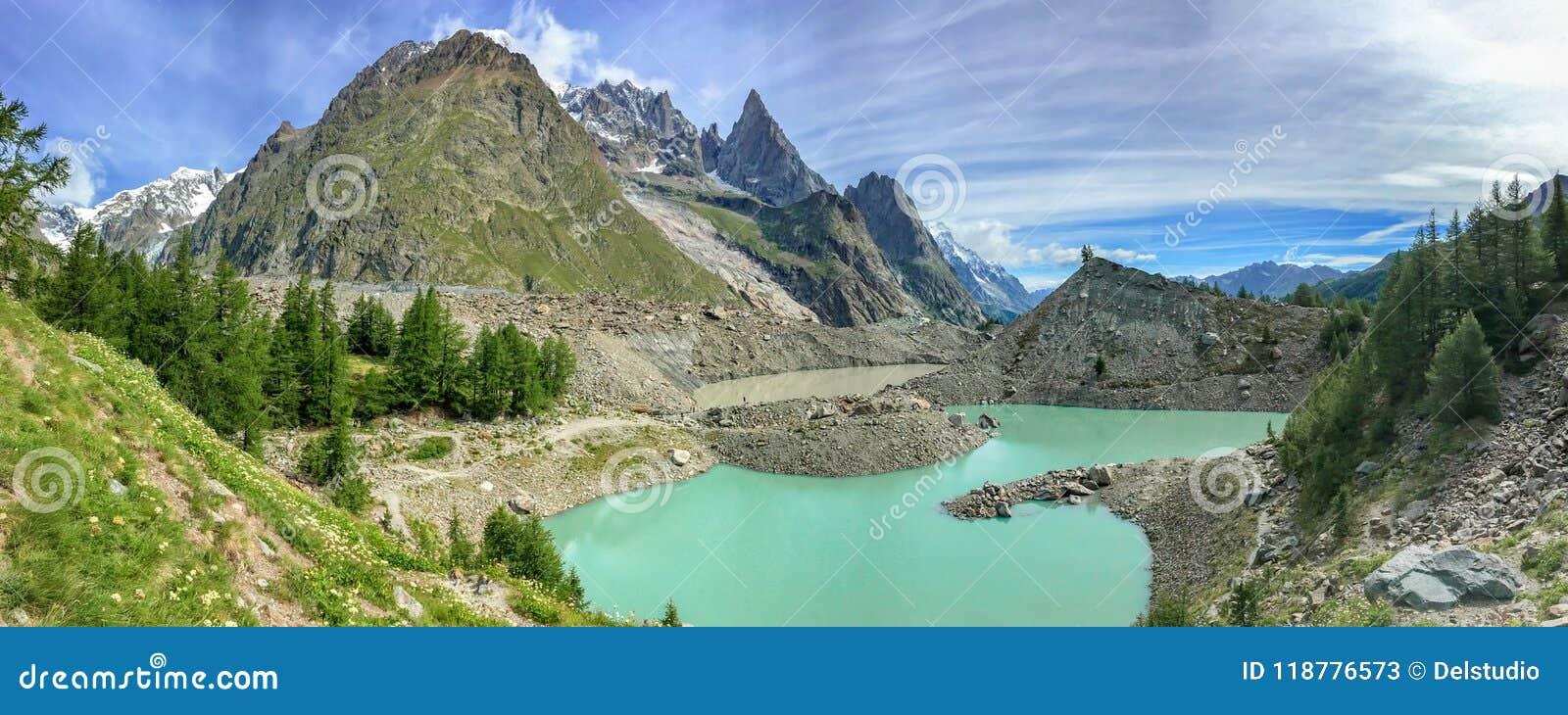 Lac du Miage Miage lake, Aosta Valley Italy