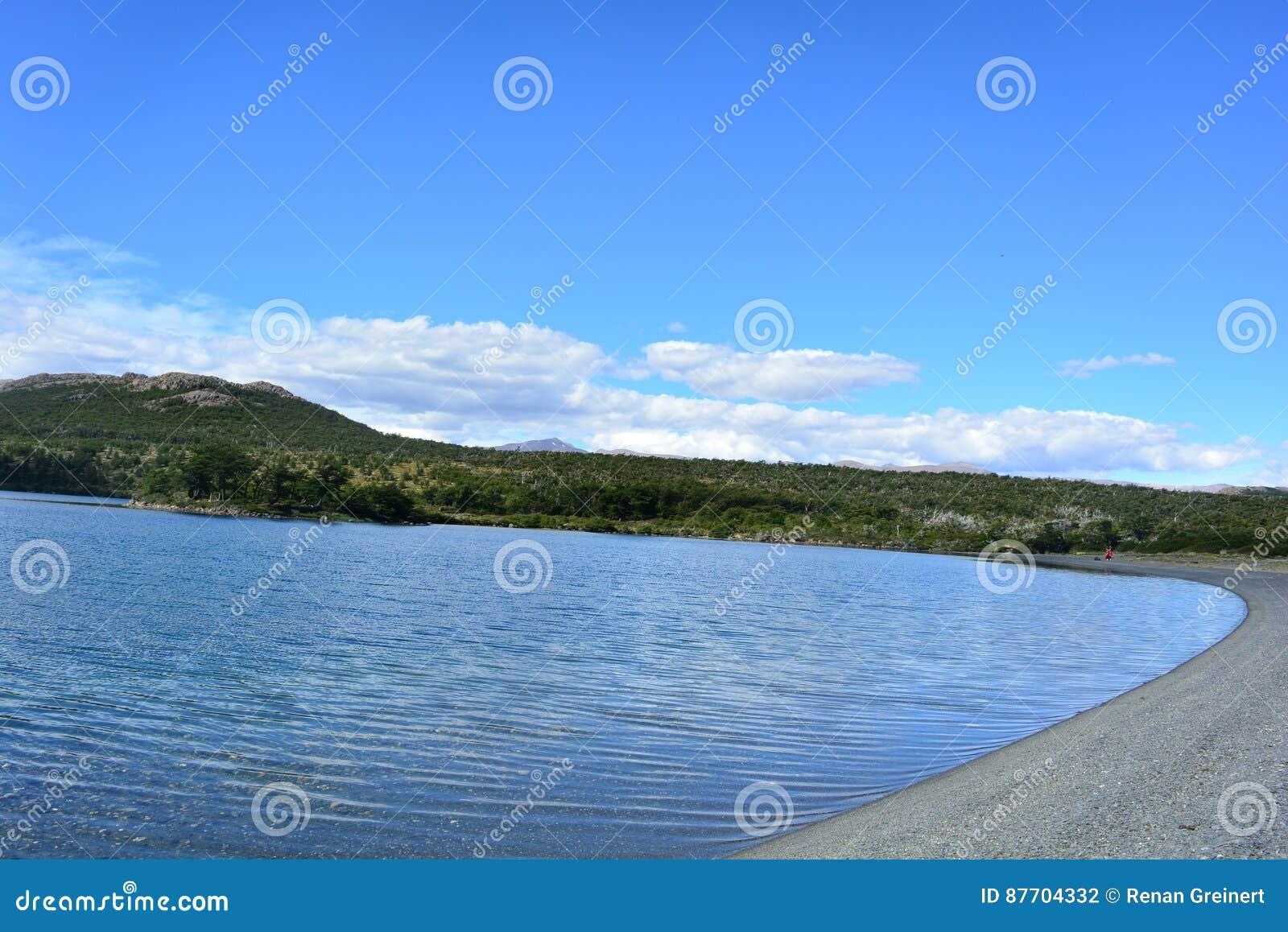 Lac en parc national de visibilité directe Glaciares, EL Chaltén, Argentine