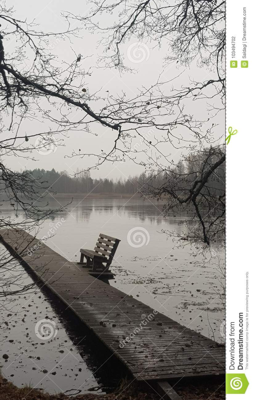 Lac froid