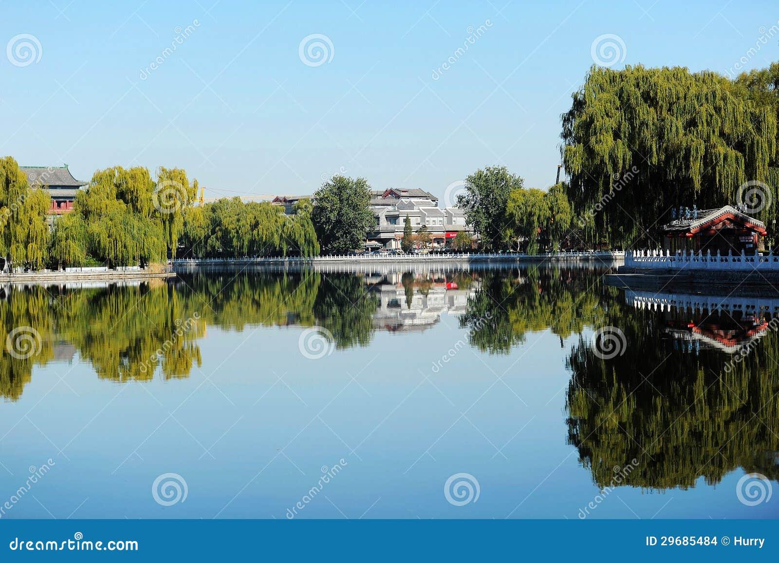 Lac Houhai, Pékin