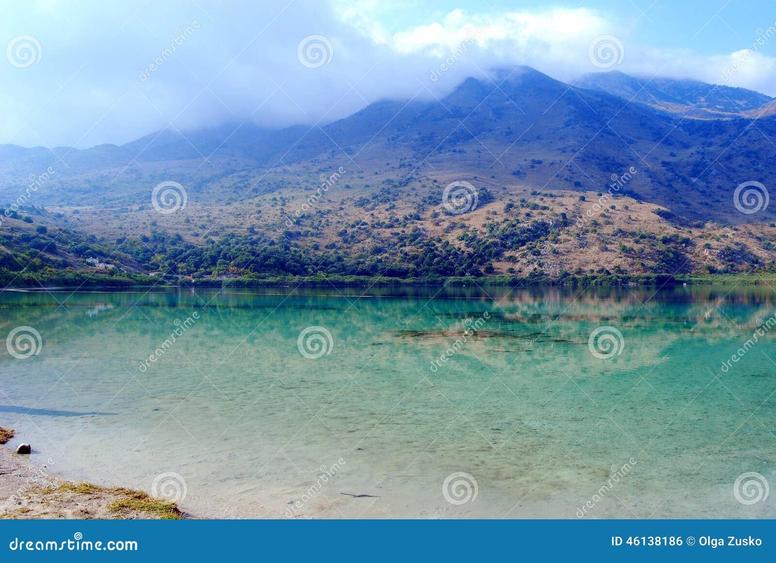 Lac Kournas, île de Crète