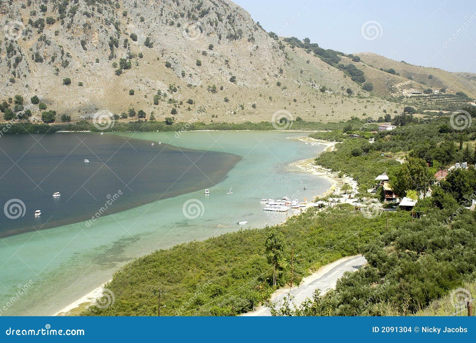 Lac Kournas crete