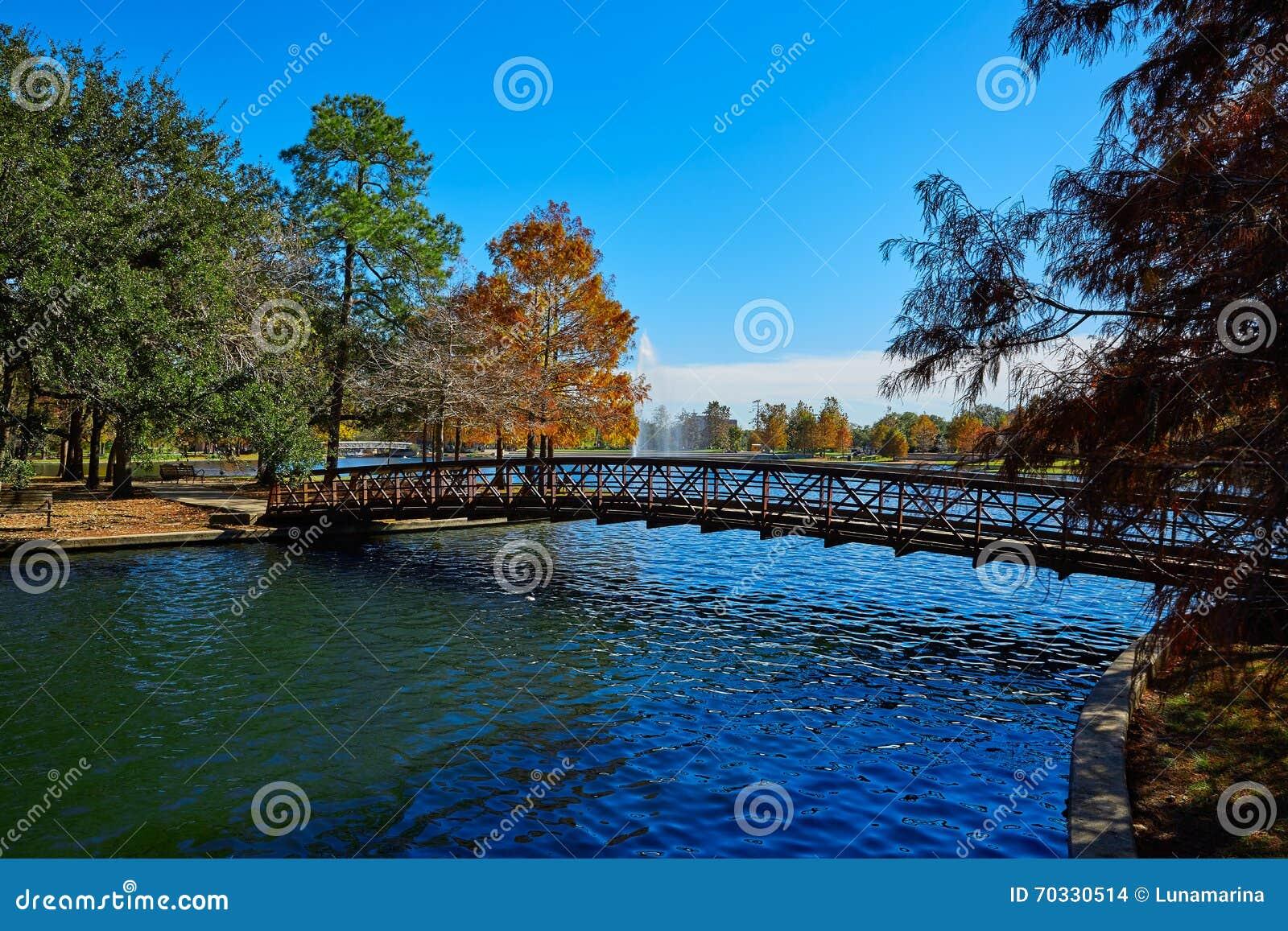 Lac Mcgovern de parc de Houston Hermann