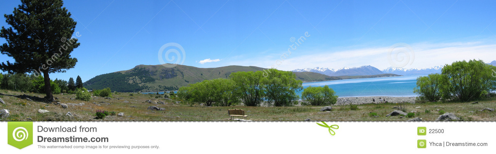 Lac mt de cuisinier près de la Nouvelle Zélande