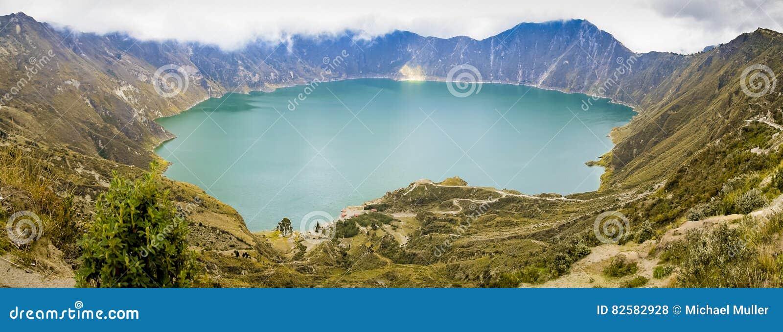 Lac Quilotoa en Equateur