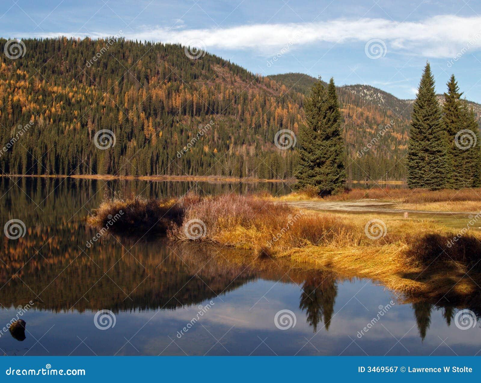 Lac, réflexion, montagnes #2