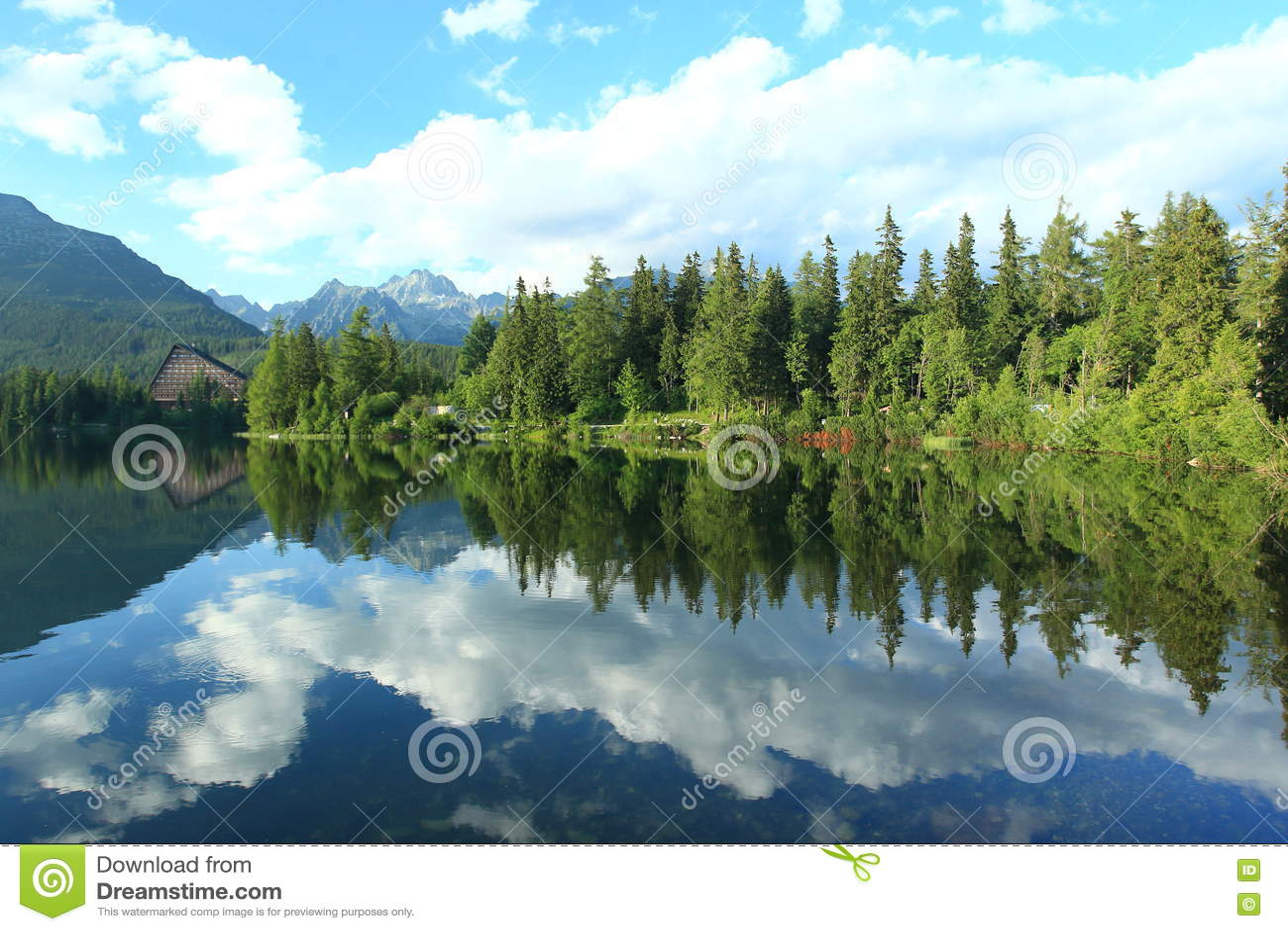 Lac Strbske