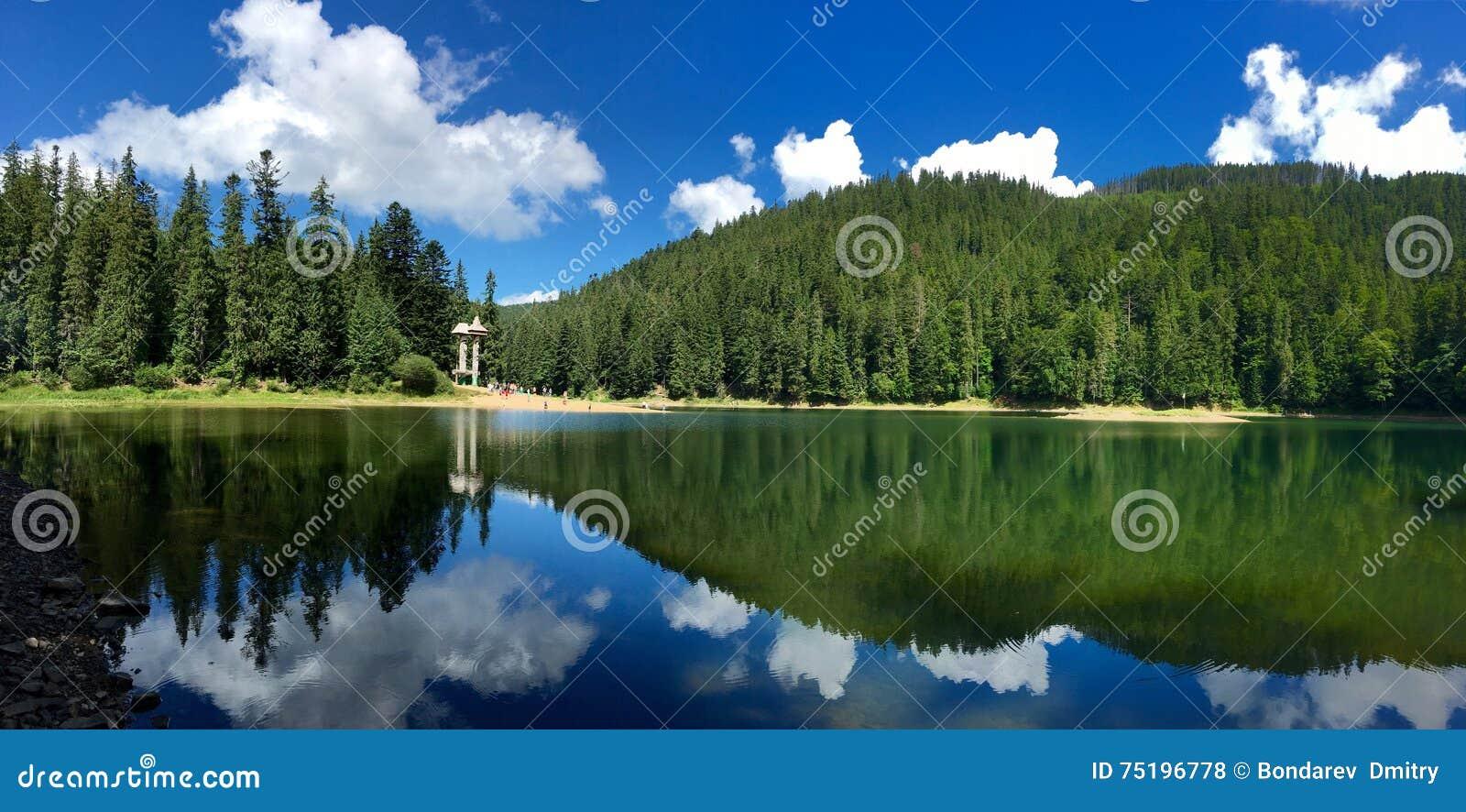 Lac Synevir mountain