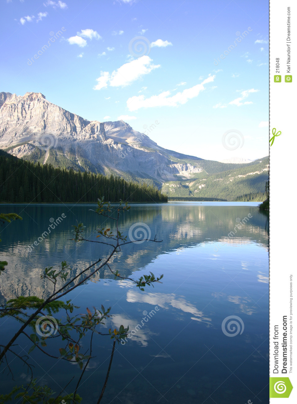 Lac tranquille mountain