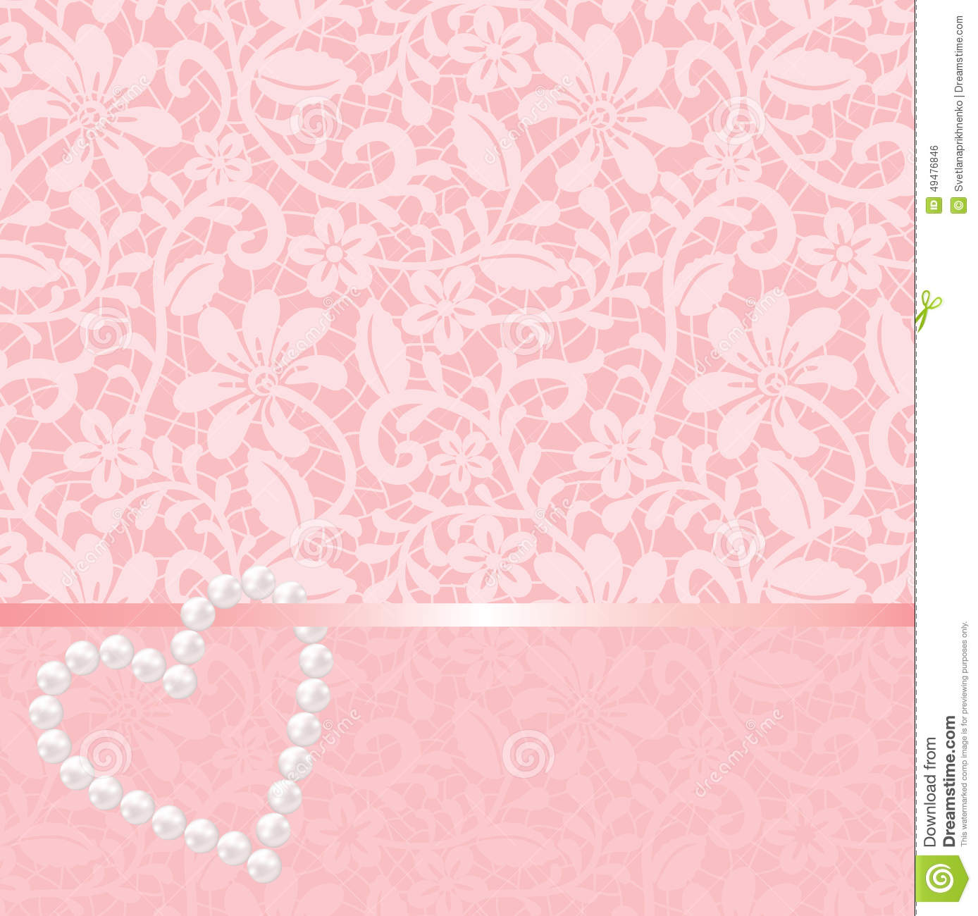 lace pearls pink wallpaper - photo #5