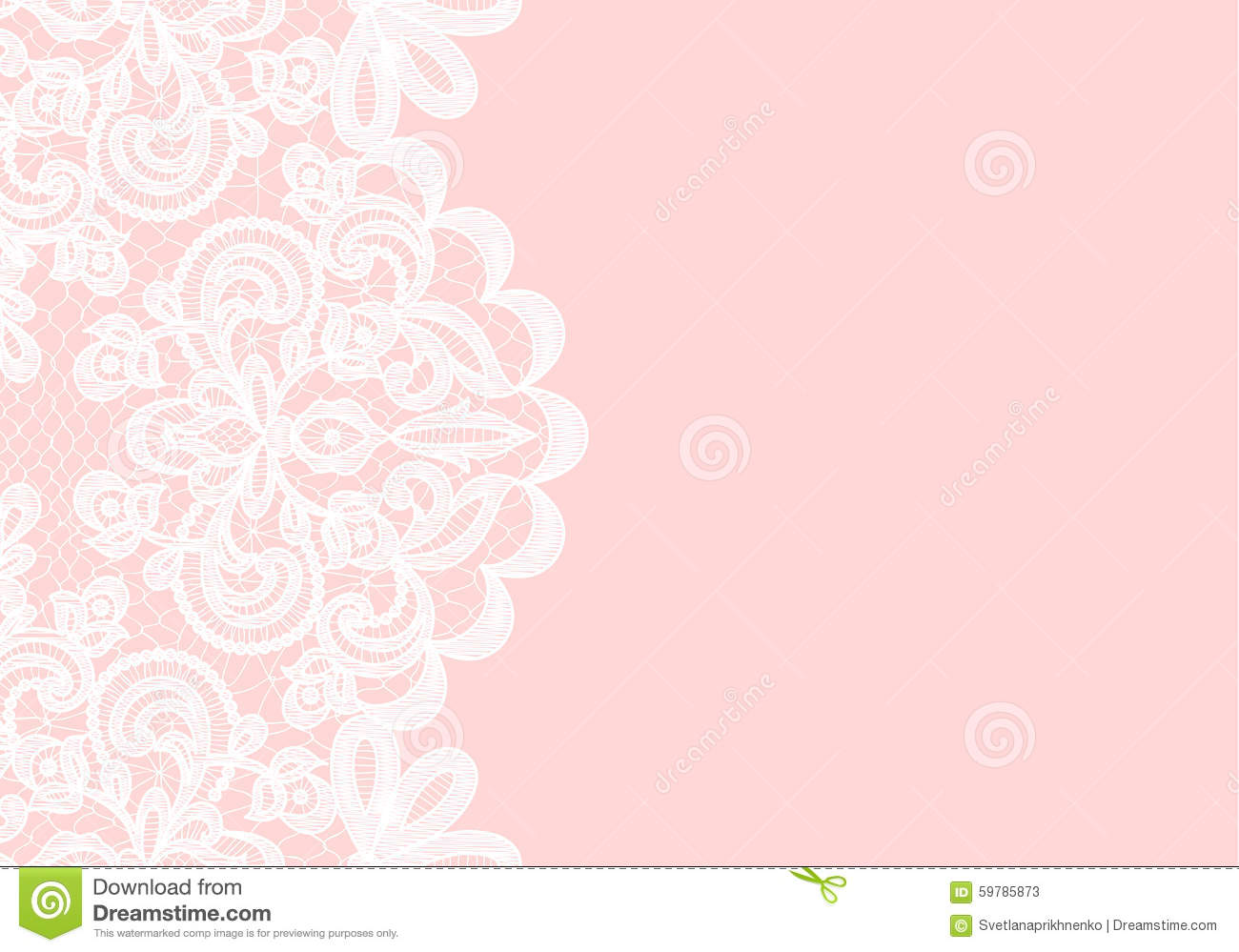 Wedding Invitation Or Greeting Card With Lace Border On Pink Background: Lace Wedding Invite Backgrounds At Reisefeber.org