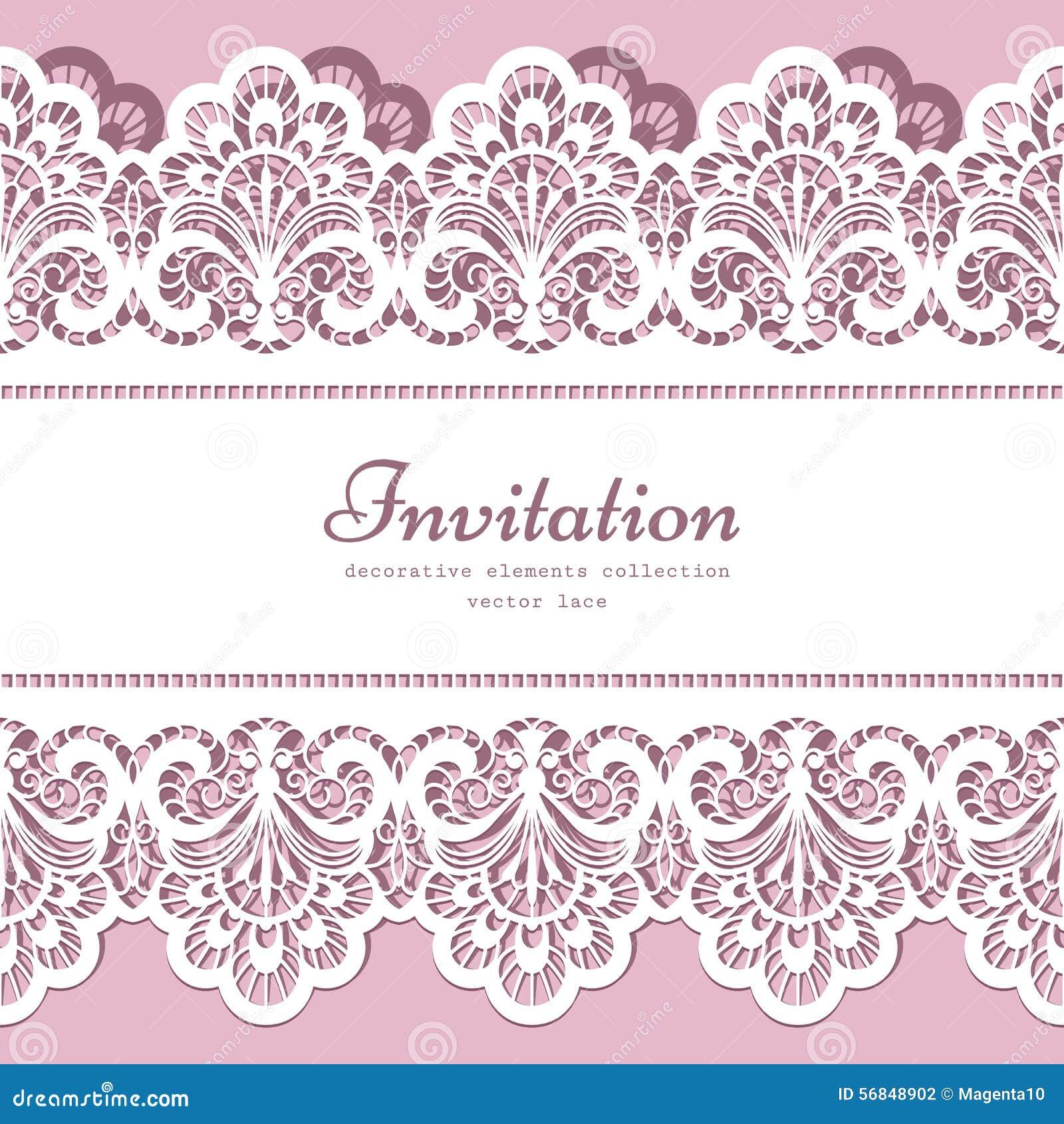 lace border template illustration 56848902 megapixl