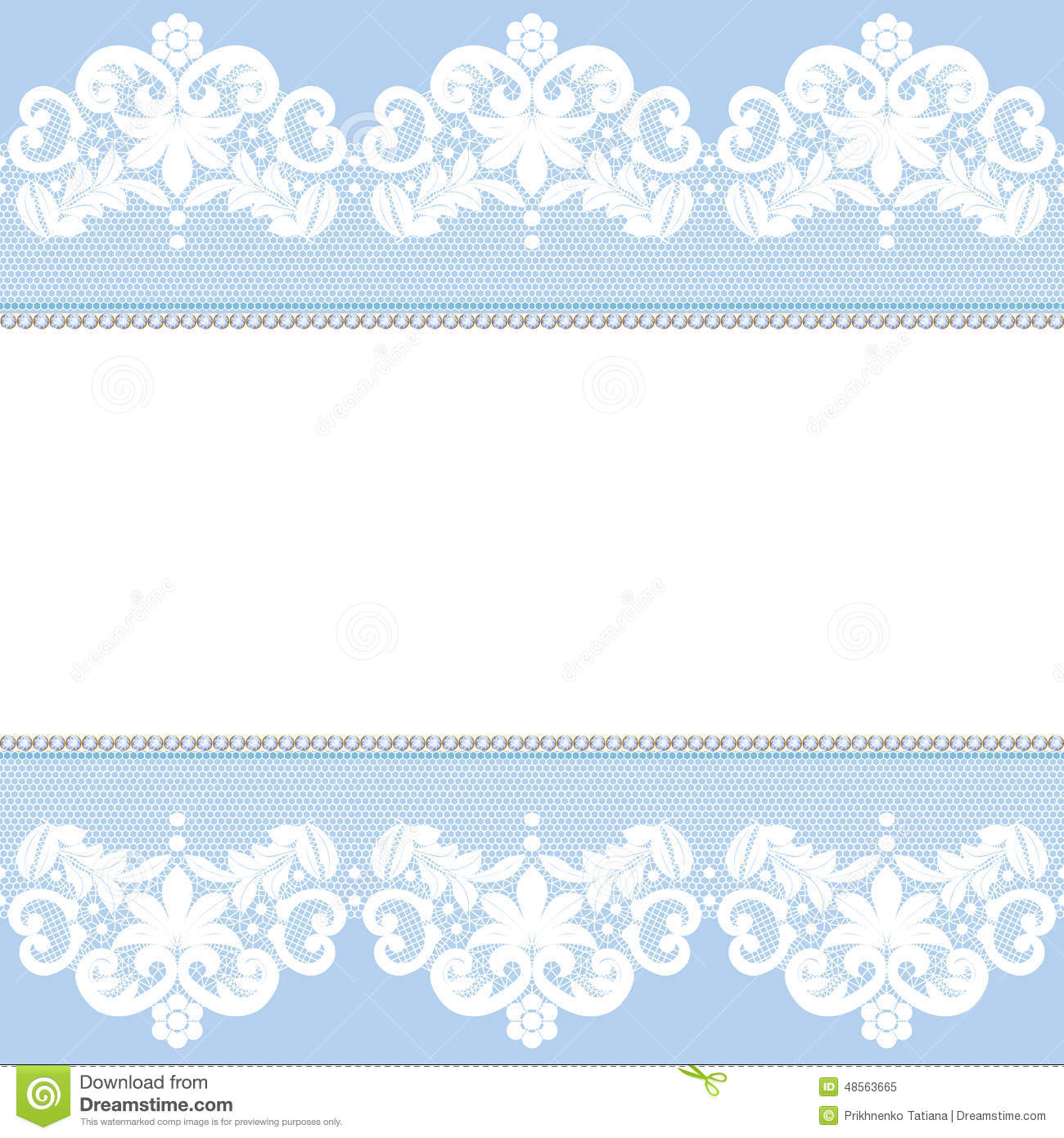 lace border stock vector illustration of ornament seamless 48563665