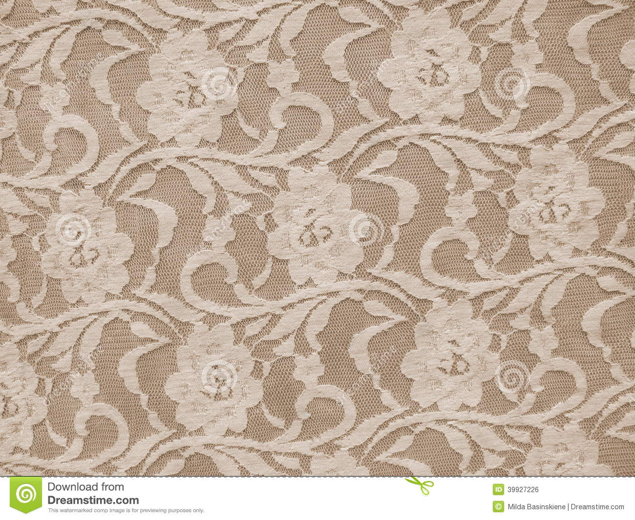 Lace Fabric Texture Stock Photo Image 39927226