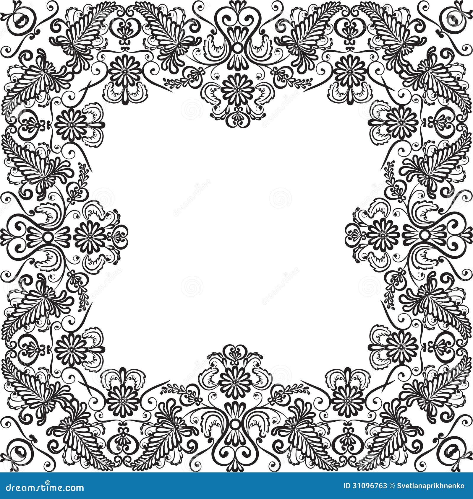 Lace Frame Stock Photos Image: 31096763