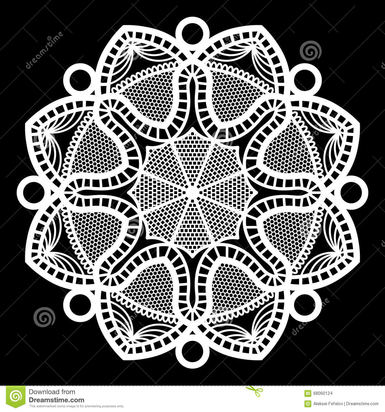 Lace Round Paper Doily, Doily To Decorate The Cake, Doily Under The ...