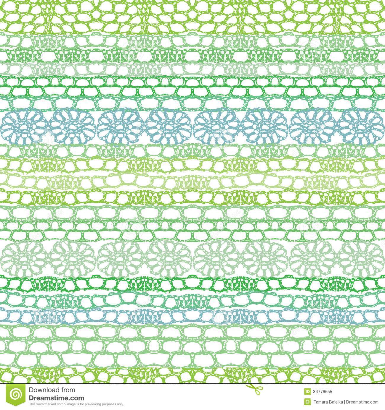 Crochet Patterns Vector : Lace seamless crochet pattern. Vector background.