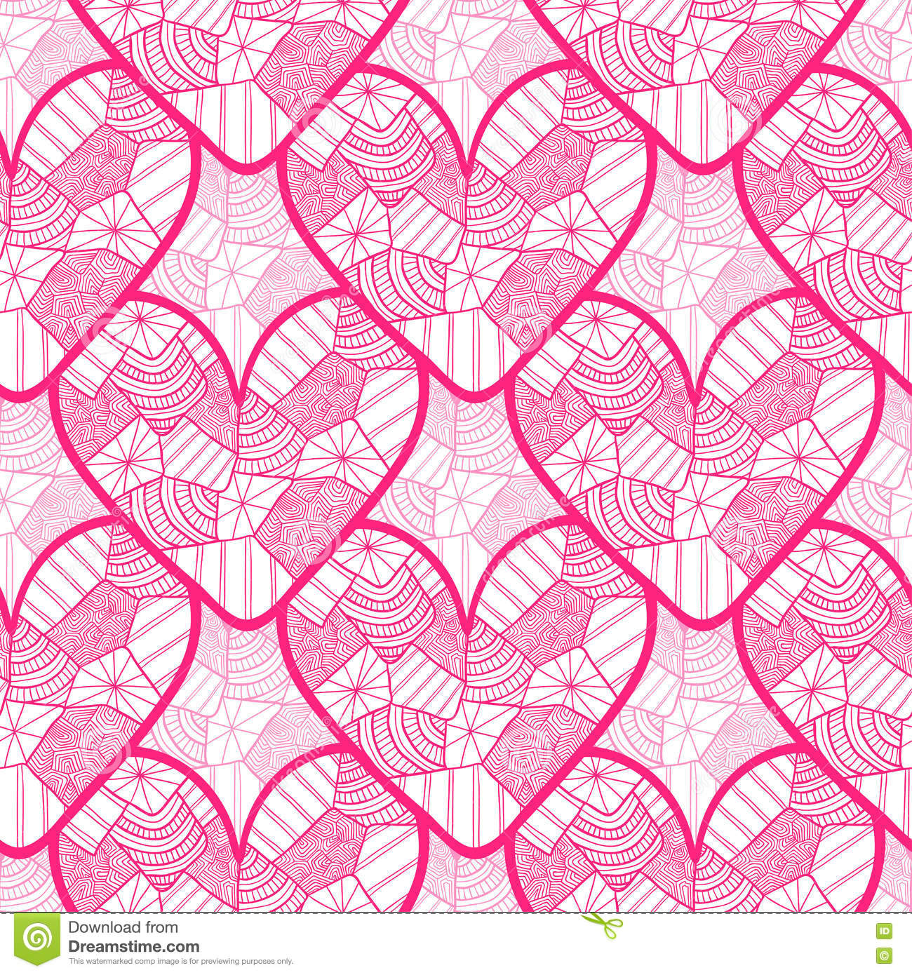 lace seamless pattern with ornamental hearts texture for valentines day wrapping paper wedding invitation background textile fa - Valentines Day Wrapping Paper