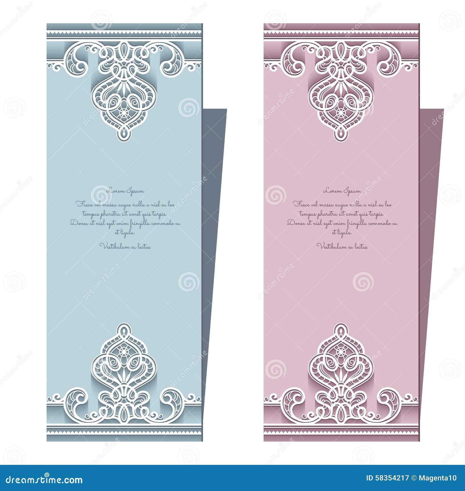 elegant wedding card template matik for. Black Bedroom Furniture Sets. Home Design Ideas
