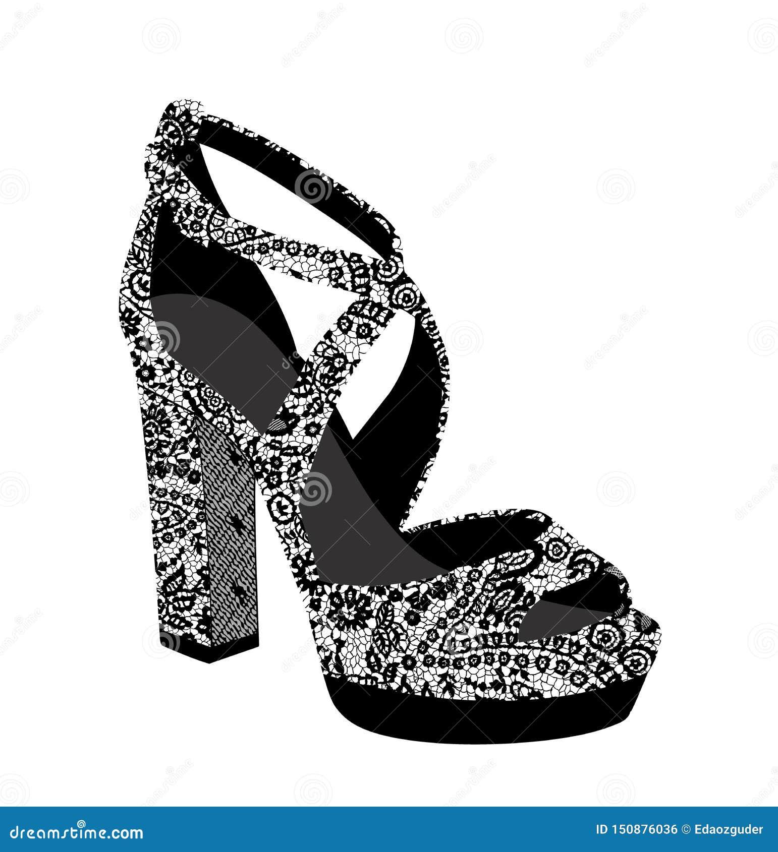 Lacez l illustration modelée de chaussures, copie de tee-shirt