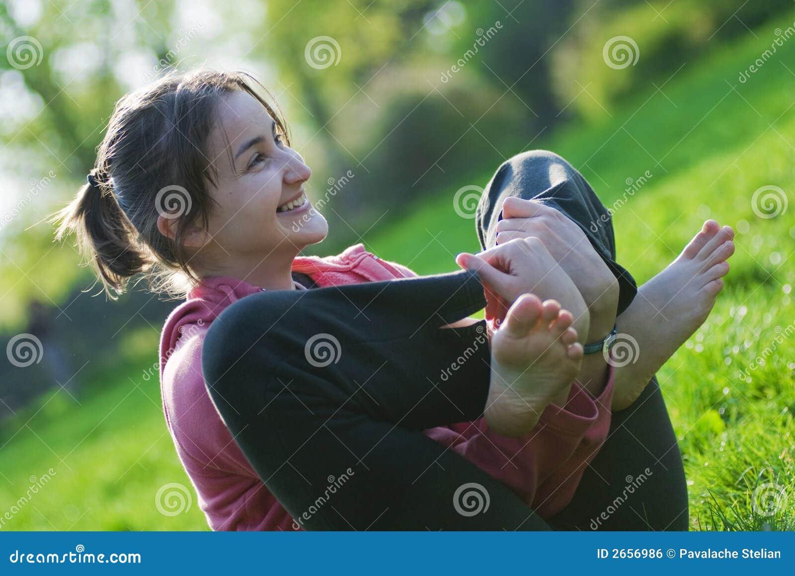 Lachen im Park