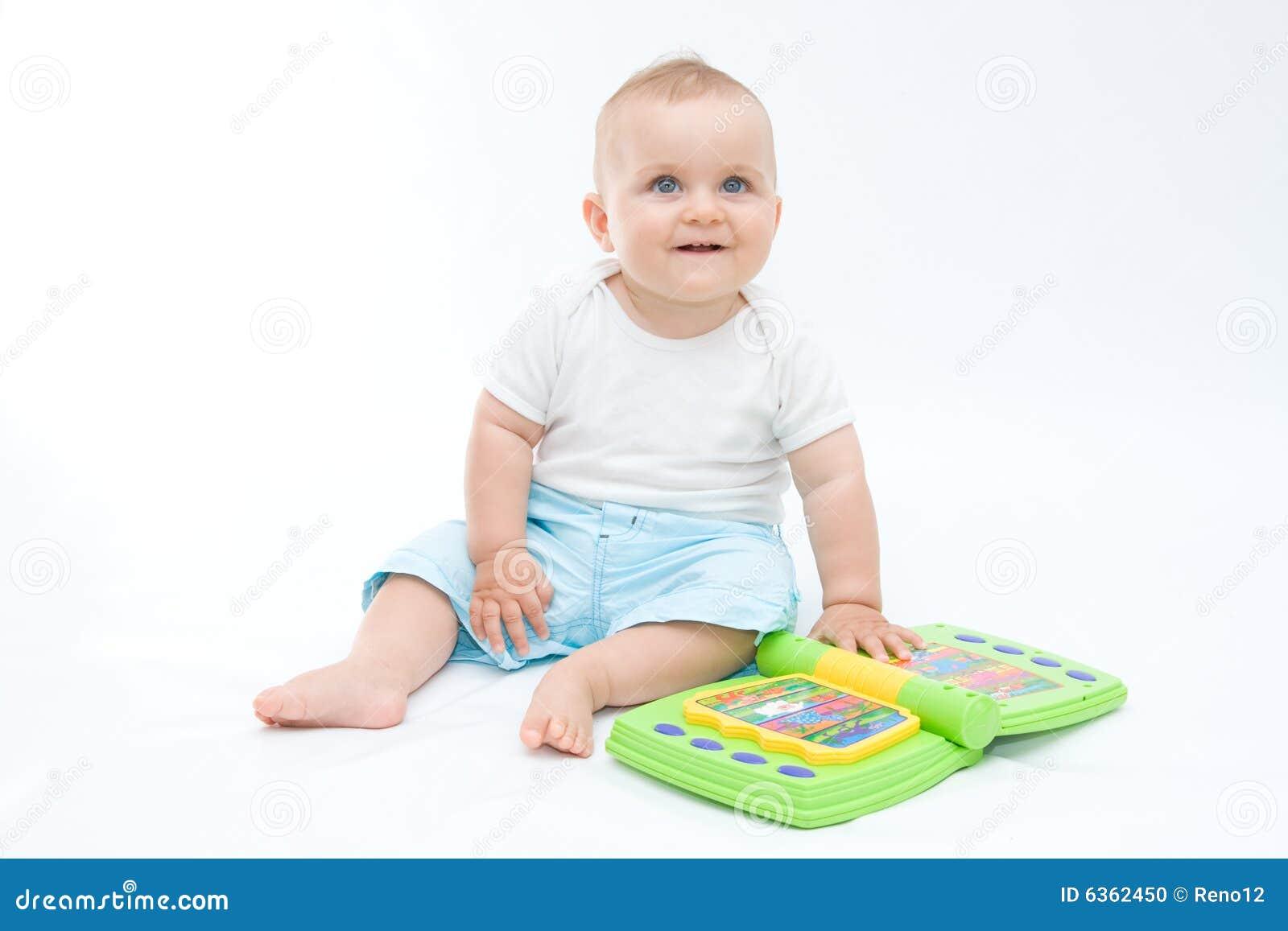 Lachende baby stock foto afbeelding 6362450 - Baby voet verkoop ...