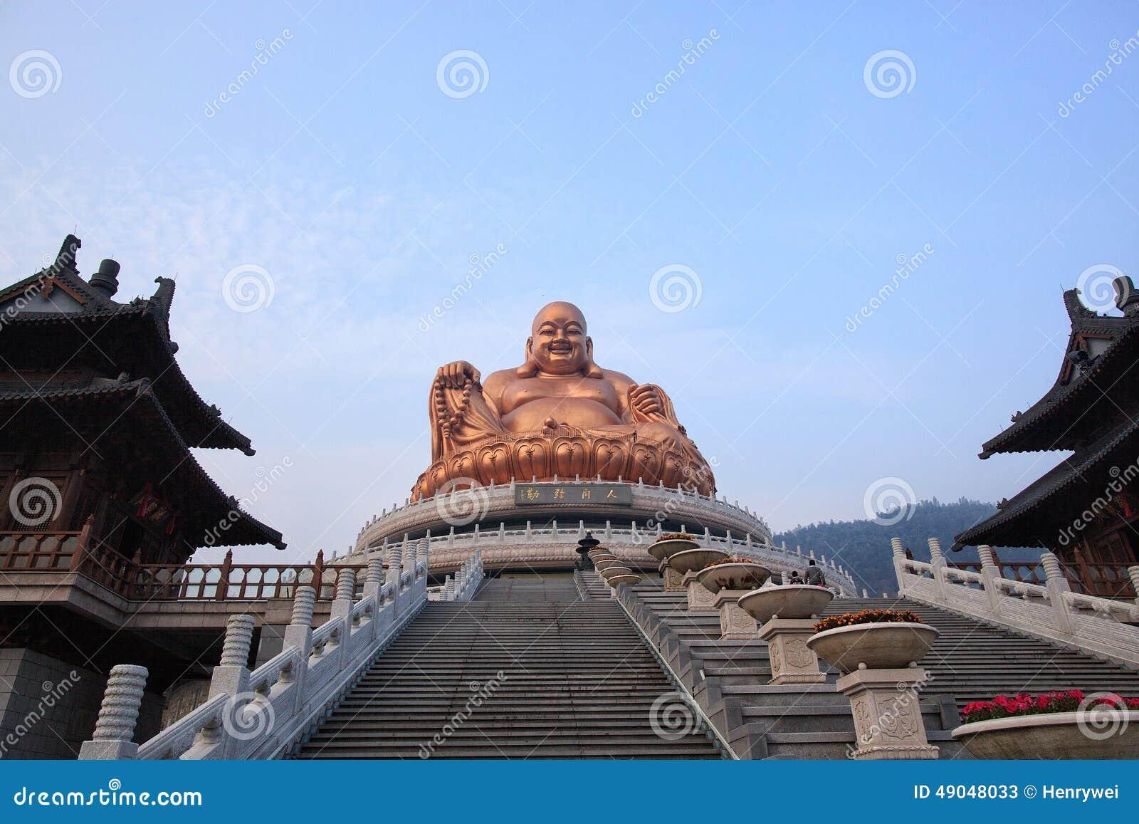 Lachende Buddha-Figürchen