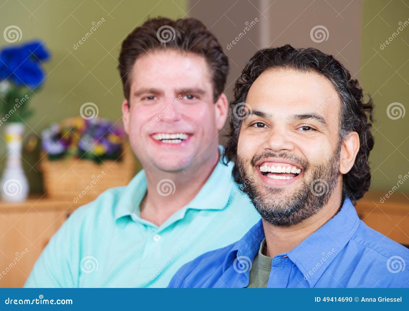 Download Lachende Homosexuelle Männer Stockfoto - Bild von glücklich, partner: 49414690