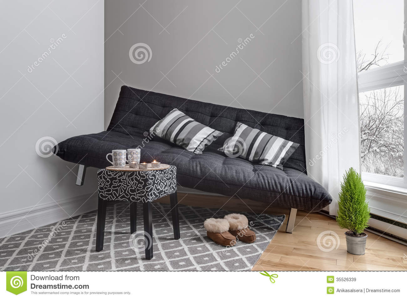 Lack of space in the living room