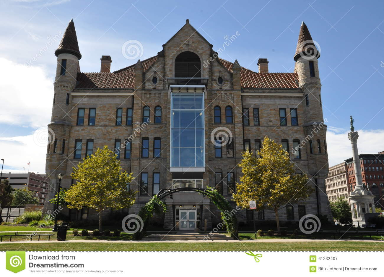Lackawanna County Gericht in Scranton, Pennsylvania