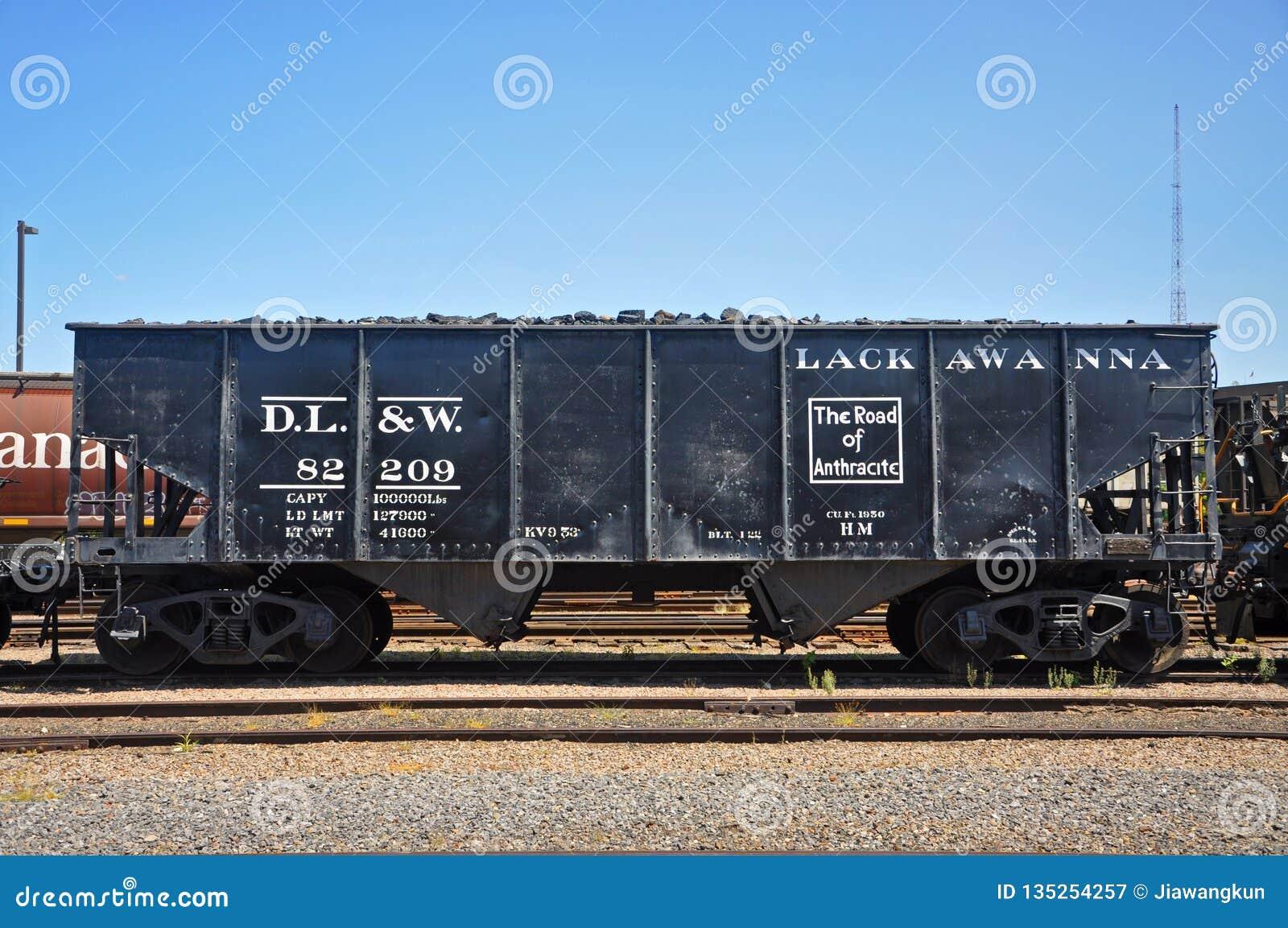 Lackawanna fraktbil, Scranton, PA, USA