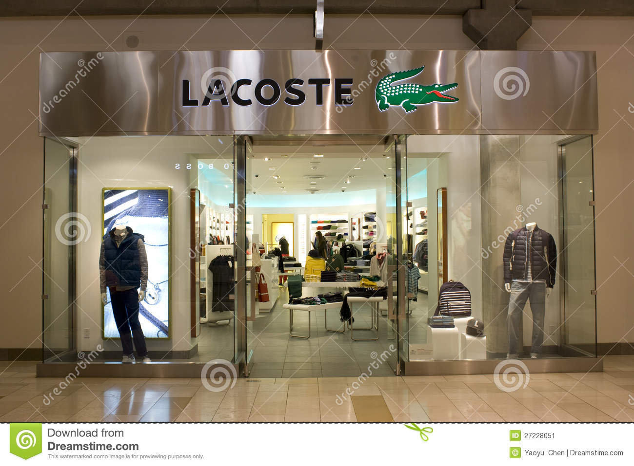 3c2b4b9bcce85 Lacoste Store Stock Images - Download 154 Royalty Free Photos