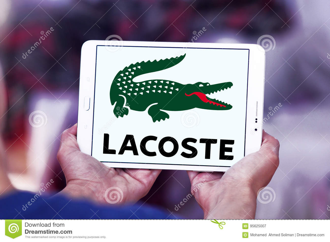 Lacoste Logo Editorial Photography Image Of Smartphone 95625007