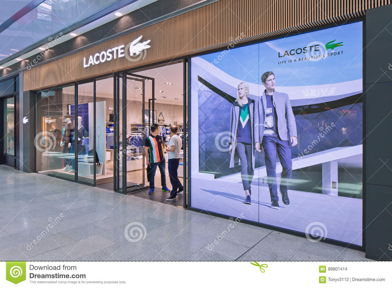 info for 38943 82f85 Lacoste Outlet, Livat Shopping Mall, Beijing, China ...