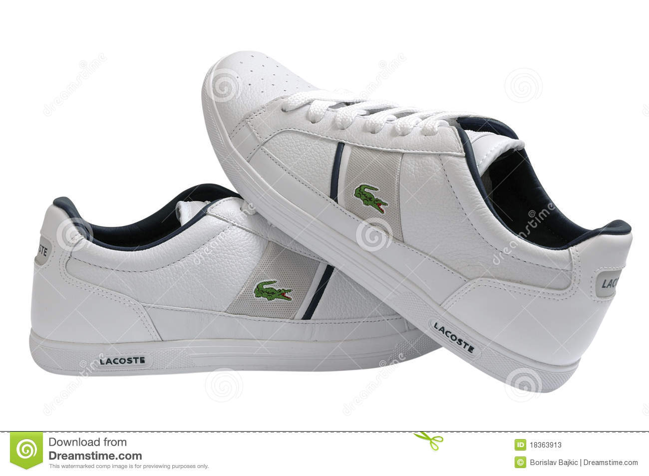 Lacoste Sport Shoes Editorial Stock Photo - Image: 18363913