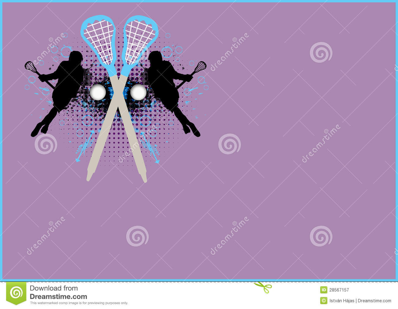 Abstract Sports Background Royalty Free Stock Image: Lacrosse Background Royalty Free Stock Photography