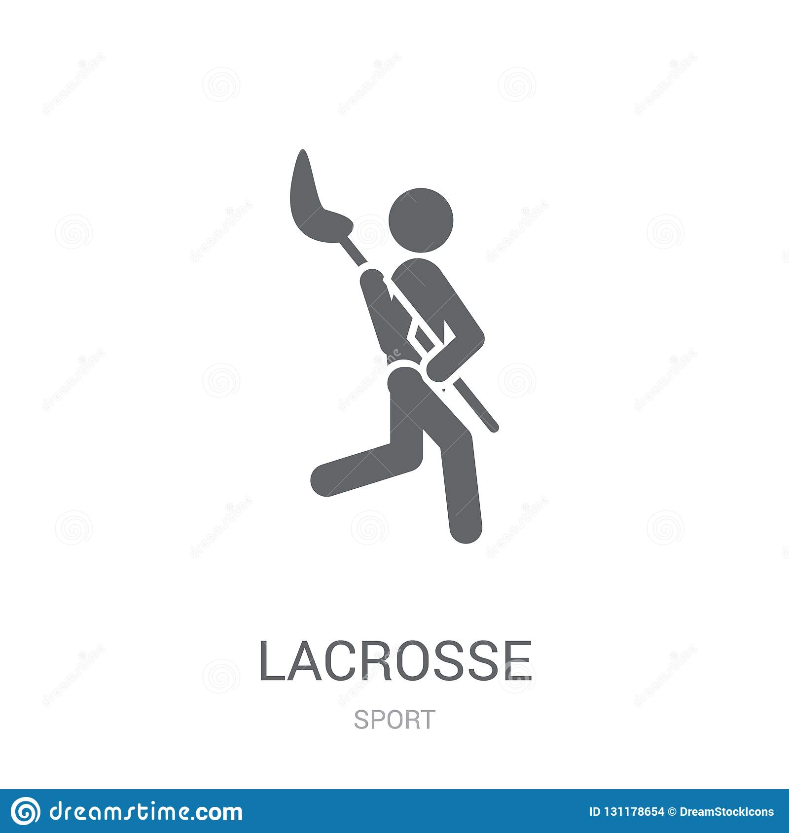 Lacrosse icon. Trendy Lacrosse logo concept on white background