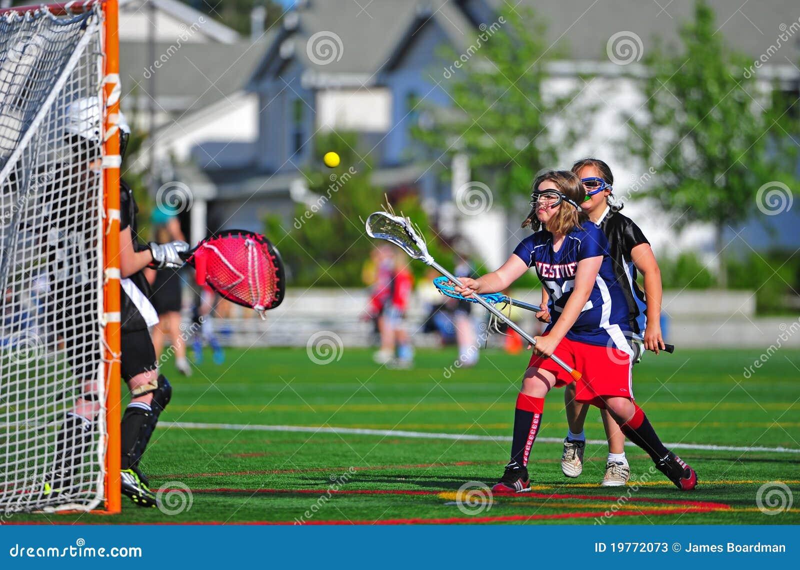 Lacrosse Youth girls goalie