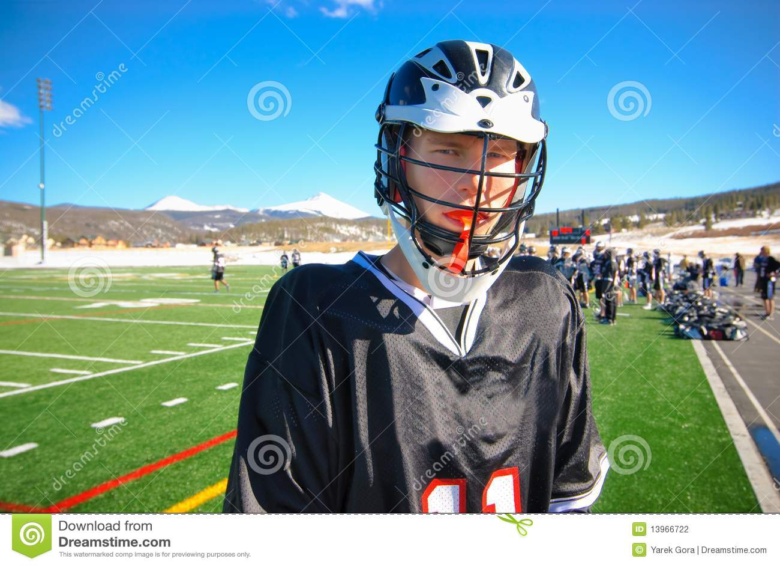 Lacrossespelare
