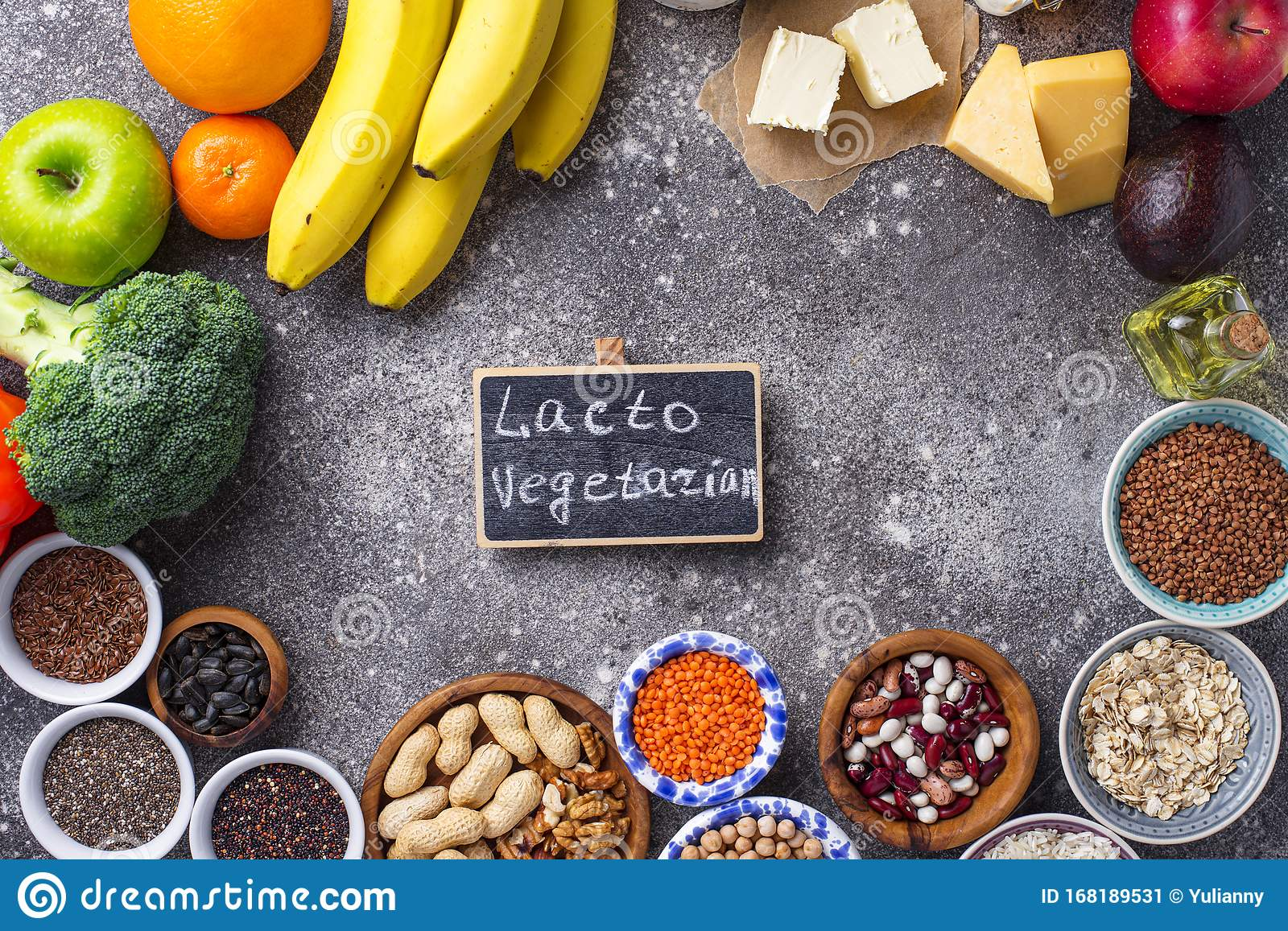 Lacto Vegetarian Diet Concept Healthy Food Stock Image Image Of Lacto Health 168189531